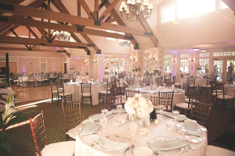 Pinehills golf club venue plymouth ma weddingwire for Outdoor wedding venues ma