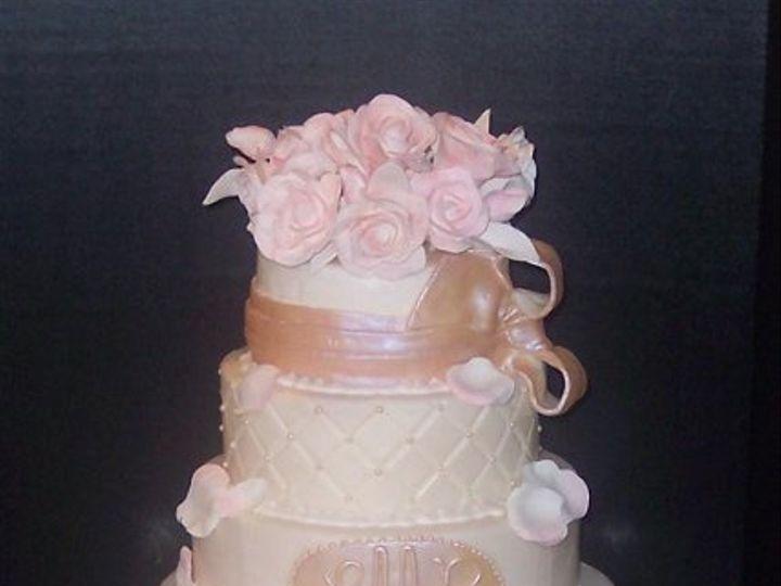 Tmx 1242926660900 BlushingBeauty Dover wedding cake