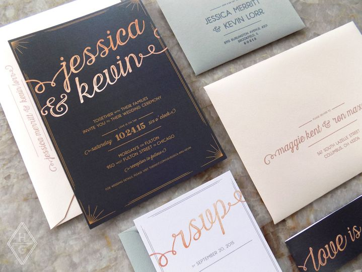 rustic romantic city loft wedding invitations by h