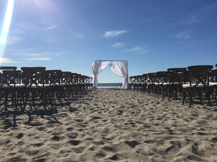 Cross-back Chairs Wedding