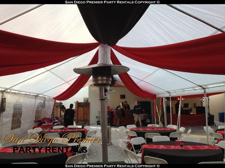 20x40 Tent   Heaters   Drape