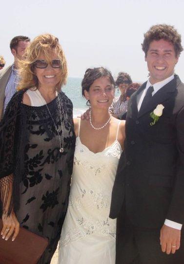 Beautiful Malibu Wedding on 7/7/07.