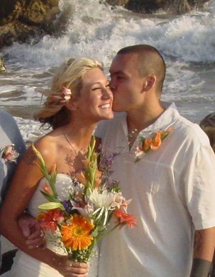 Love Story Wedding Leo Carillo Beach Malibu CA