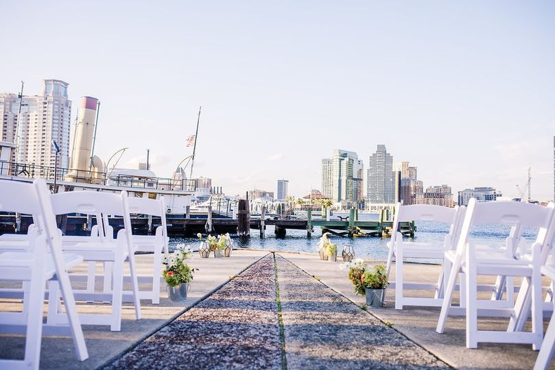 Ready for a waterfront wedding