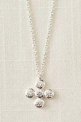 Tmx 1289515545245 CZCrossNecklace Saint Louis wedding jewelry