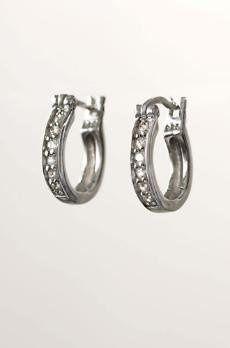 Tmx 1289515633511 Babypavehoopearrings Saint Louis wedding jewelry