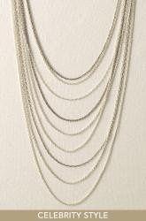 Tmx 1289515762370 Cascadingchainnecklace Saint Louis wedding jewelry