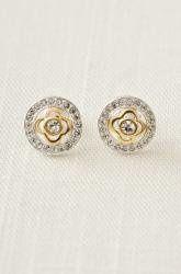 Tmx 1289516110355 Pavecloverearrings Saint Louis wedding jewelry