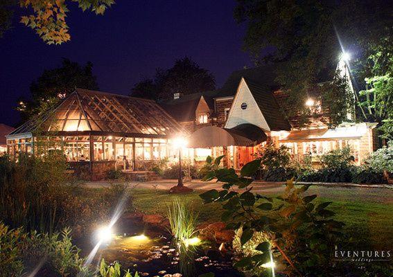 Springwood Manor at night