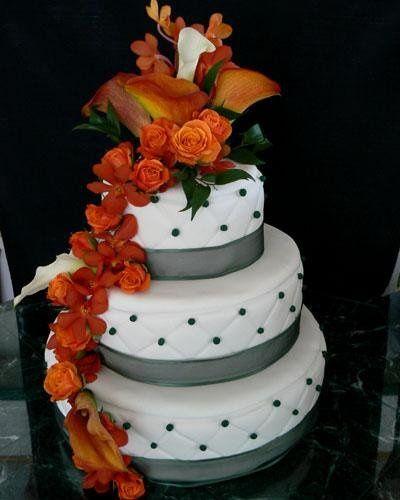 Bright, orange flowers