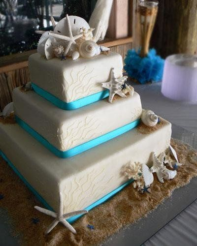 Tmx 1236624614922 Beach Blue Ribbon L Bradenton, FL wedding cake
