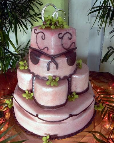 Tmx 1236624811641 Pinkpearl L Bradenton, FL wedding cake