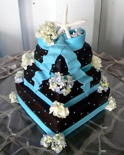 Tmx 1308008912917 Chocblueribbon Bradenton, FL wedding cake