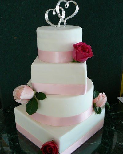 Tmx 1308008915011 Pinkribbonrosesl Bradenton, FL wedding cake
