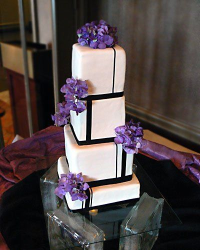 Tmx 1308008918636 Tallblackribbonl Bradenton, FL wedding cake