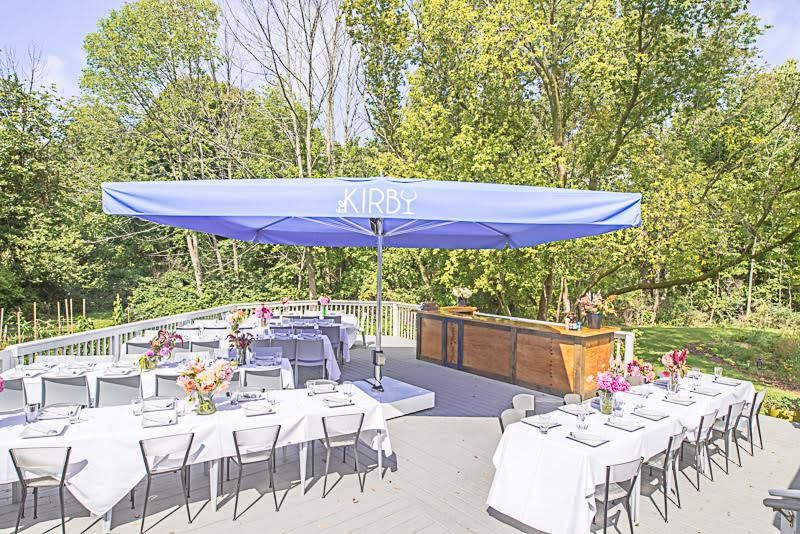 Outdoor Deck: Dining on the lower deck and dancing on the top deck. There is also a stage for...