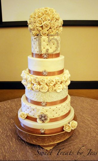 Sweet Treats by Jess - Wedding Cake - Palm Bay, FL - WeddingWire