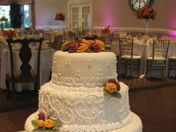 Tmx 1257602526442 IMG3592a Auburn wedding cake