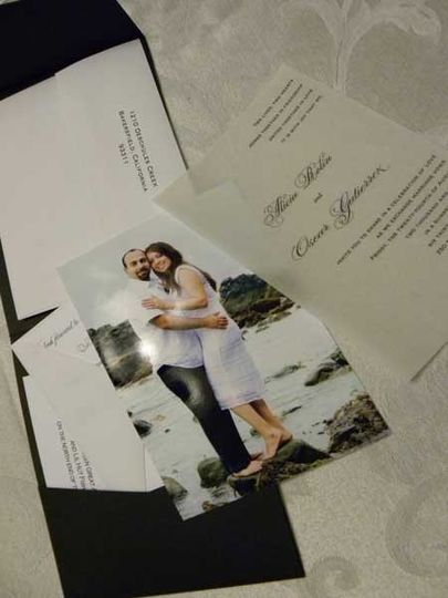 Sheer Expressions Invitation Suite