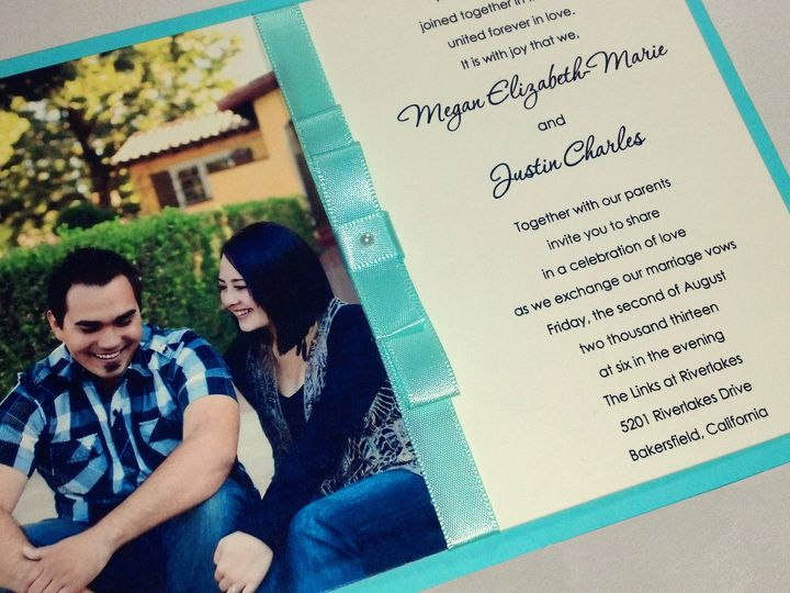 Tmx 1391157726040 Easterwood Johnson Wedding Fron Bakersfield wedding invitation