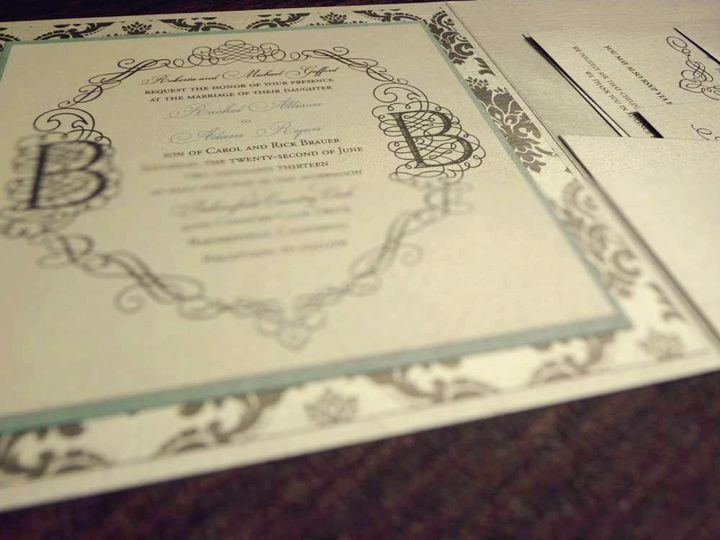 Tmx 1391158397132 Gafford Brauer Inside Vie Bakersfield wedding invitation