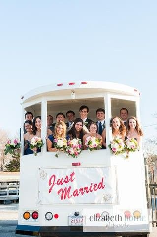 Tmx 1490121053819 Wedding Trolley Plymouth, MA wedding transportation