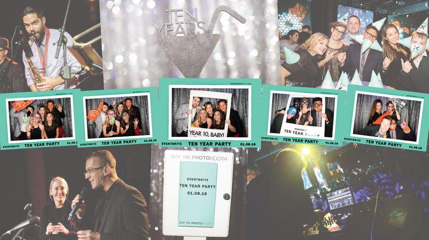 eventbrite 10 year partysay ya photobooth