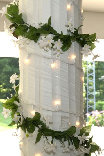 Decorations for gazebo wedding