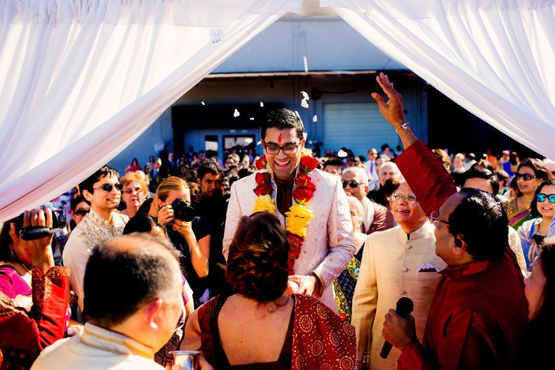 portland indian baraat wedding vivek