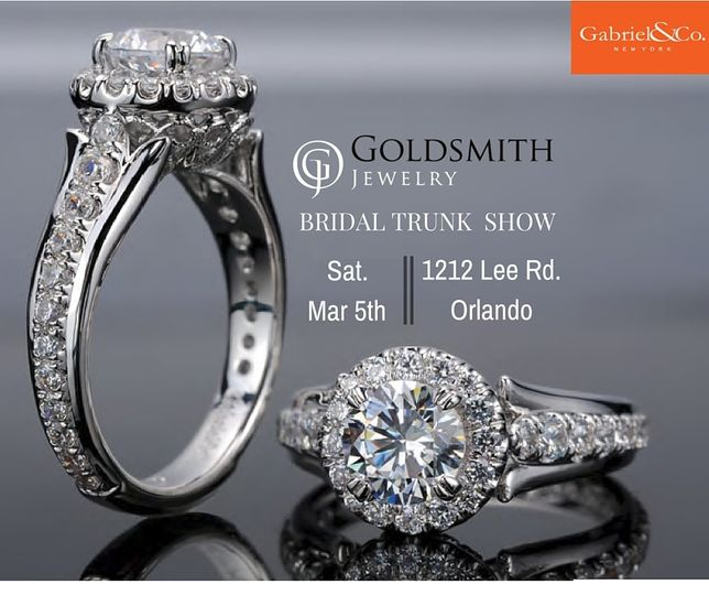 Join us for upcoming Trunk Show on March 5th featuring the entire bridal collection from Gabriel &...