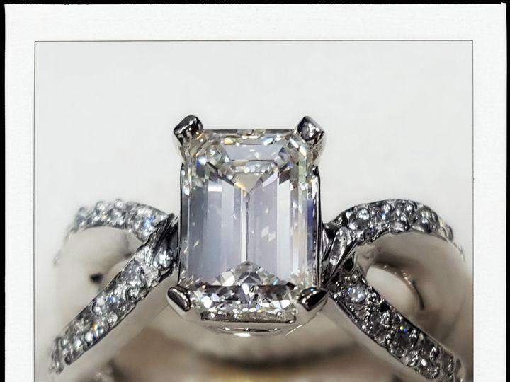Tmx 1455907344246 Kisner Ring Upclose Polariod Orlando wedding jewelry