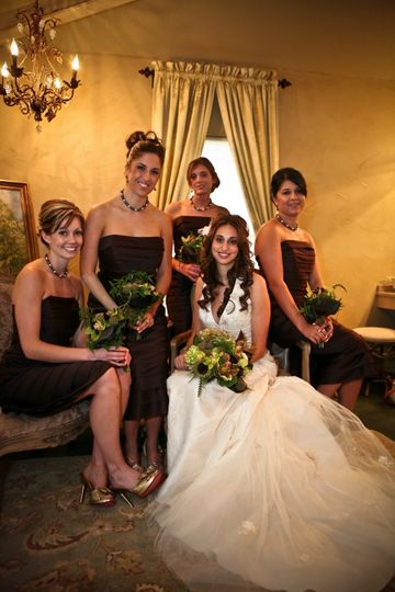 Elegant brides room for prep and pictures!