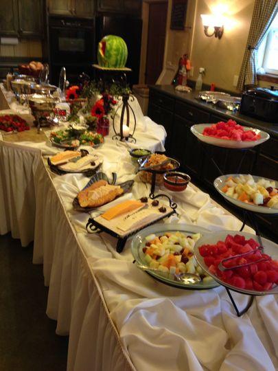 Elegant buffet