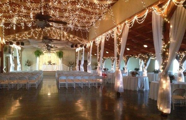 Indoor weddings are just as beautiful
