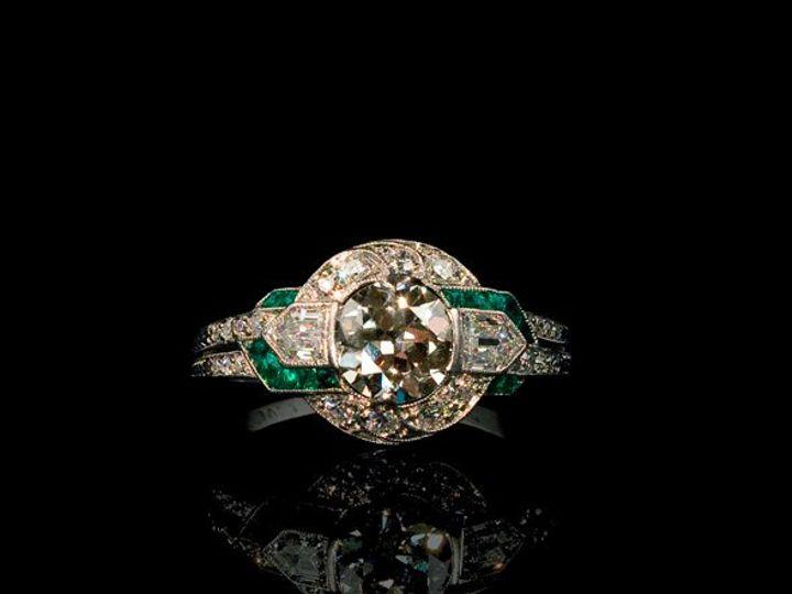 Tmx 1363468329641 DecoEmDiaRing1 Aliso Viejo wedding jewelry
