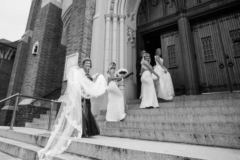 Bride's Church entrance