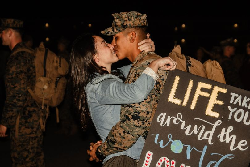 Homecoming from 6mo Deployment