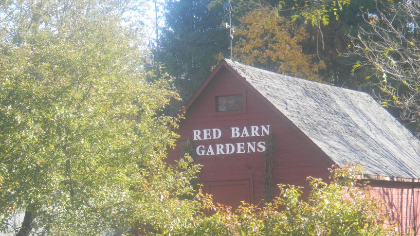 Exterior view of Red Barn Gardens