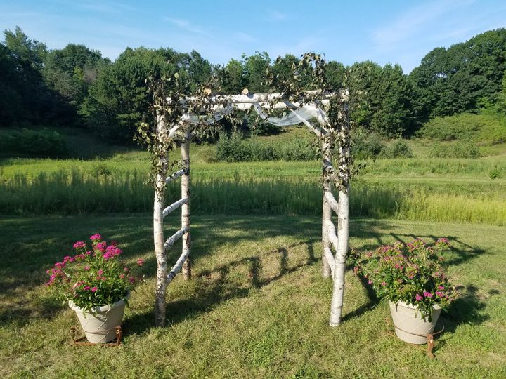 Decorate your own arbor