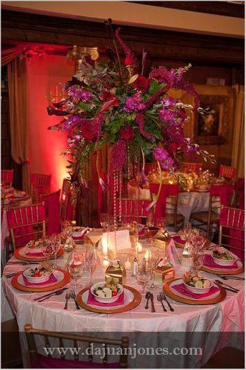 Large Table Arrangement
