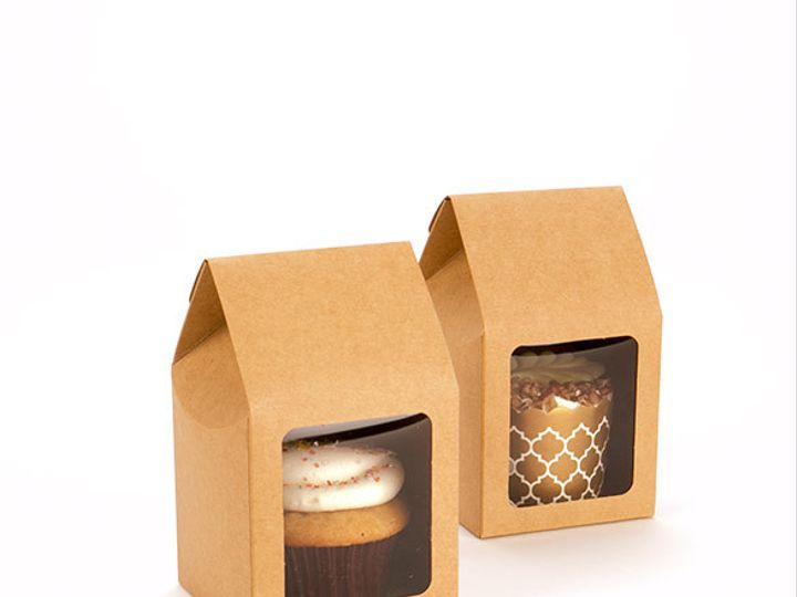 Tmx 1465486162050 Kraft Tapered Tote Box Fs320 X2 El Dorado Hills wedding favor