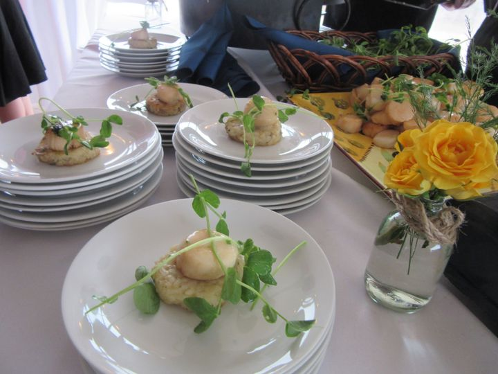 Tmx 1458234804221 Scallops  Risotto Provincetown wedding catering
