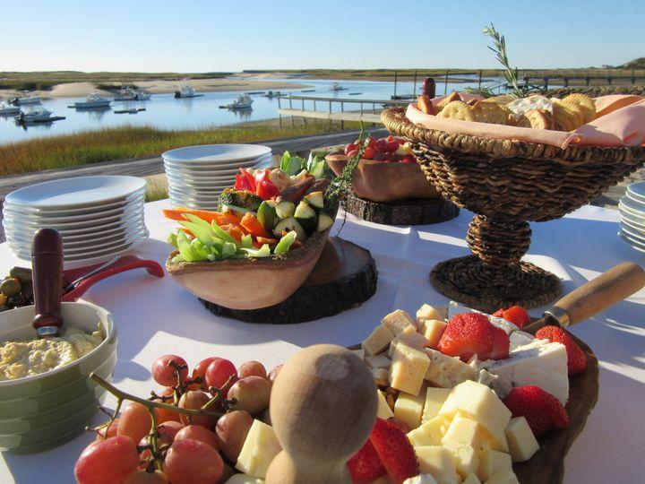Tmx 1458234834283 Cheese Pamet Deck Provincetown wedding catering