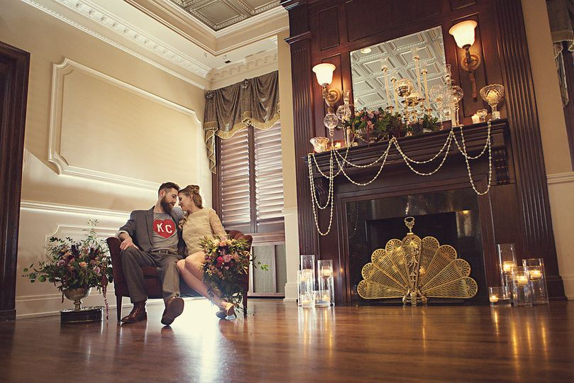 Loose Mansion - Third Level Ballroom  Photo Credit : epagaFOTO