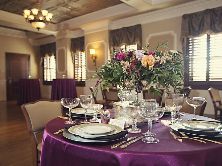 Tmx 1460667487210 12. Loose Mansion Tablescape By Epagafoto Kansas City, MO wedding venue