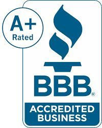 A+ Rating by the BBB  bbb.org