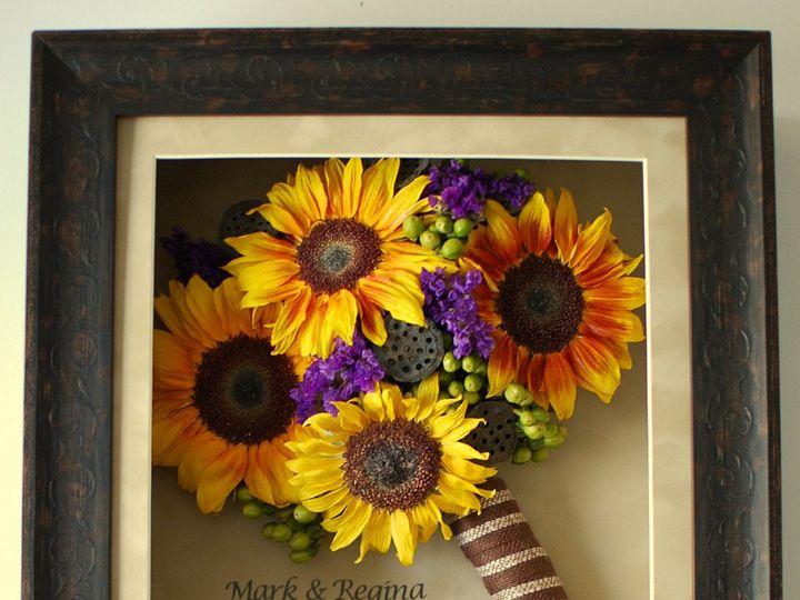 Tmx 1399393660863 Shadow Box   Sunflower Kennett Square wedding florist