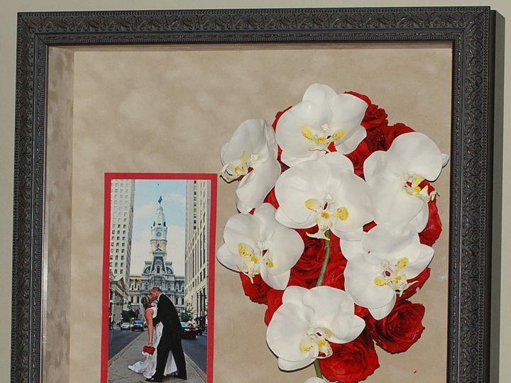 Tmx 1399393672569 Shadow Box   Cascading Flower Kennett Square wedding florist