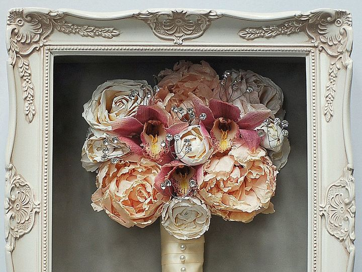 Tmx 1427231179600 8x10 Vintage Frame Kennett Square wedding florist