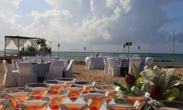 Tmx 1327616678876 BeachfrontdinnerreceptionElDoradoSeasideSuites West Chicago, Illinois wedding travel